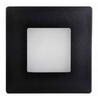 LED orientační svítidlo DECENT černé do krabice KU68