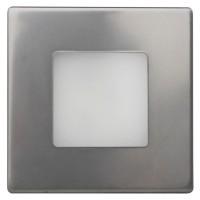 LED orientační svítidlo DECENT stříbrné do krabice KU68