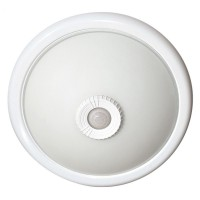 Svítidlo s čidlem pohybu MANA II 2 x E27, bílá