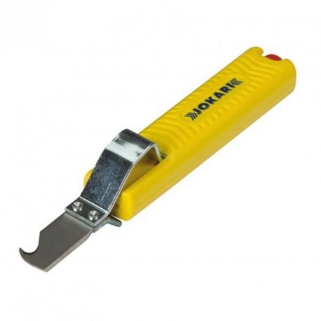 Odizolovací nůž Jokari, nastavitelný s hákem, 8-28 mm, typ 28H