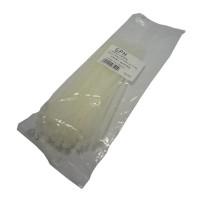 Stahovací páska 200 x 3,6 mm bílá / 100ks