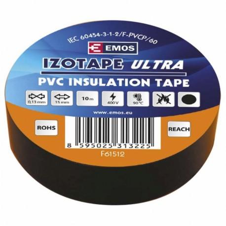 Izolační páska PVC 15x10 černá