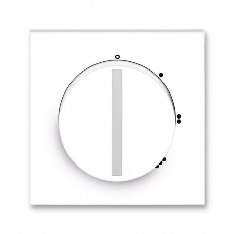 Kryt sp. s otoč.ovlad.(pro 3stupň. spínač)NEO bílá ABB, 3294M-A00170 01