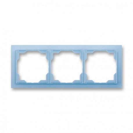 Rámeček trojnásobný NEO ledová modrá ABB, 3901M-A00130 41