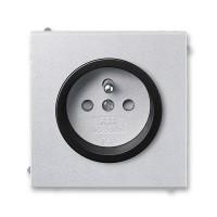 Zásuvka 1-násobná s ochranným kolíkem, s clonkami ABB, 5519M-A02357 72