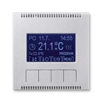 Termostat univerzální programovatelný - kryt ABB, 3292M-A10301 08