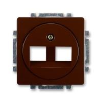 Kryt zásuvky Swing komunikační ABB, 5014G-A01018 H1