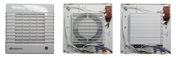 Automatická žaluzie ventilátoru řady MA